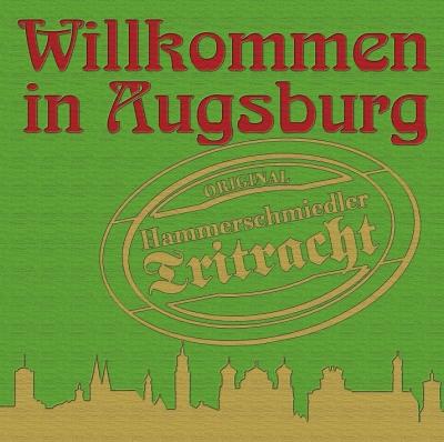 CD-Cover Willkommen in Augsburg